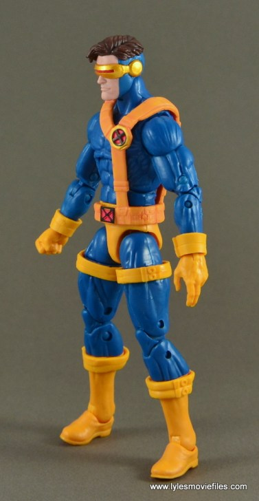 Marvel Legends Cyclops figure review -left side