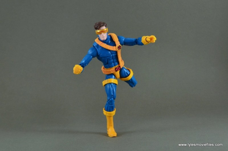 Marvel Legends Cyclops figure review -running