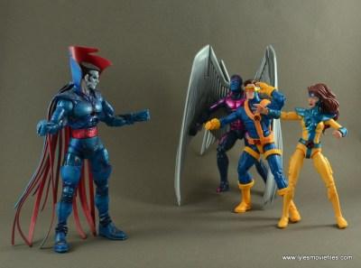 Marvel Legends Cyclops figure review - vs. Mr. Sinister