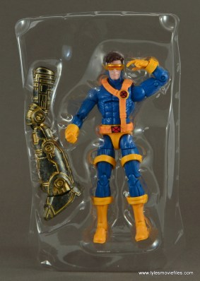 Marvel Legends Cyclops figure review -with accessory