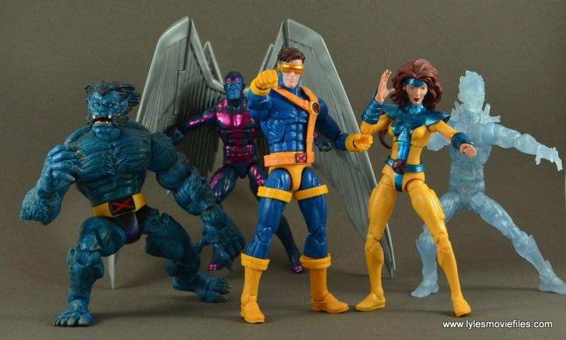 Marvel Legends Cyclops figure review -with original X-Men
