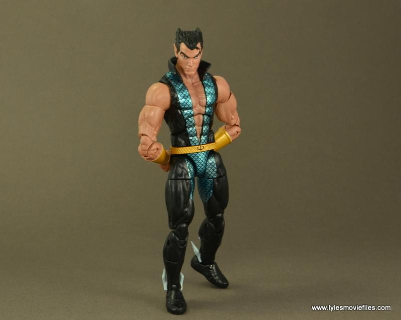 Marvel Legends Namor figure review -royal pondering