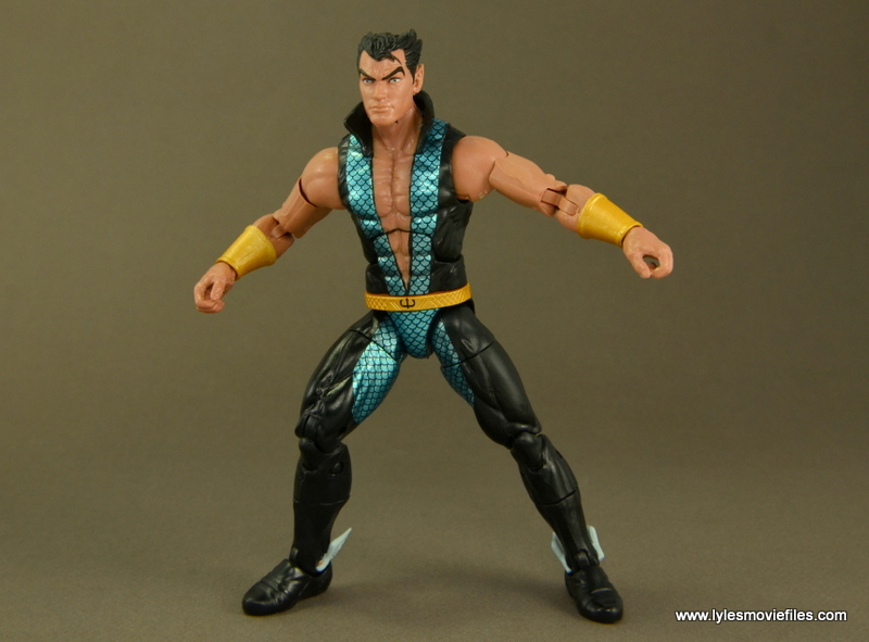 Marvel Legends Namor figure review - wide