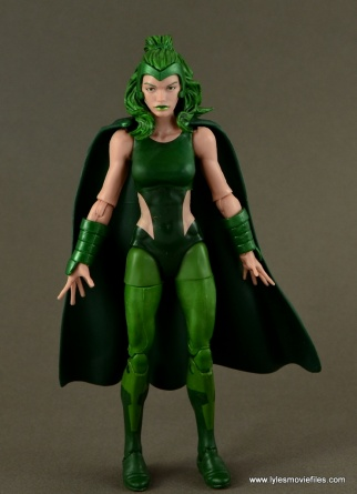 Marvel Legends Polaris figure review - front