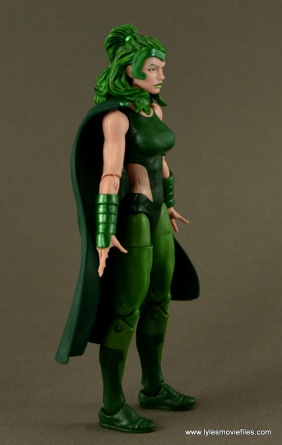 Marvel Legends Polaris figure review - right side