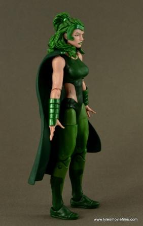 Marvel Legends Polaris figure review - right side