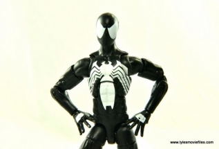 Marvel Legends Symbiote Spider-Man figure review - main pic