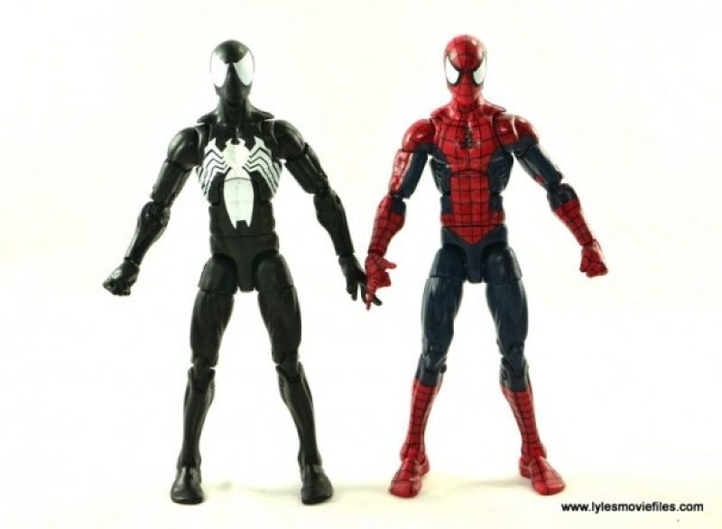Marvel Legends Symbiote Spider-Man figure review - with classic red and blue outfit