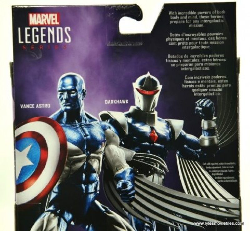 Marvel Legends Vance Astro figure review - bio