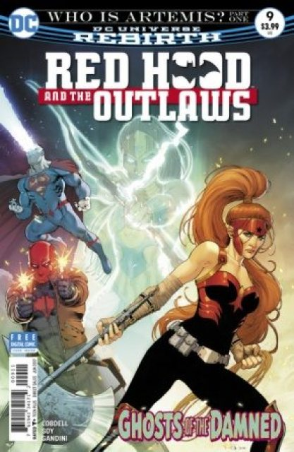 Red Hood and the Outlaws #9 cover