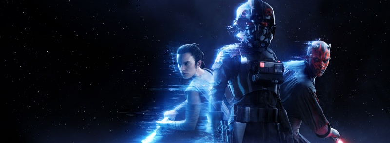 Star Wars Battlefront II - Rey, Inferno Trooper and Darth Maul