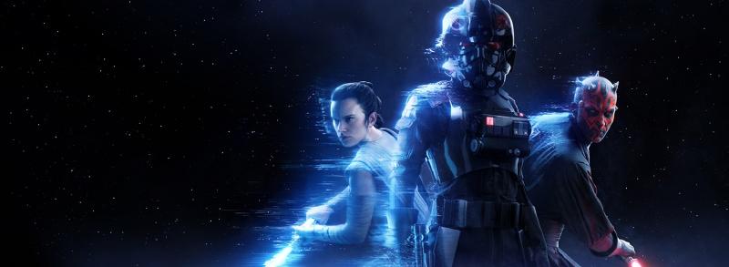 Star Wars Battlefront II - Rey, Inferno Trooper and Darth Maul