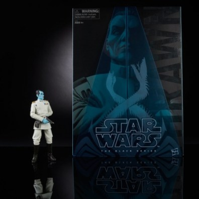 Star Wars Black Grand Admiral Thrawn SDCC package