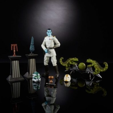 Star Wars Black Grand Admiral Thrawn accessories