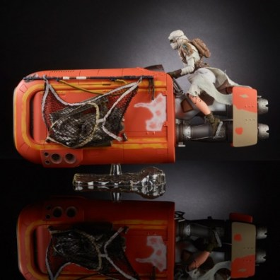 Star Wars Black Rey and speeder - main