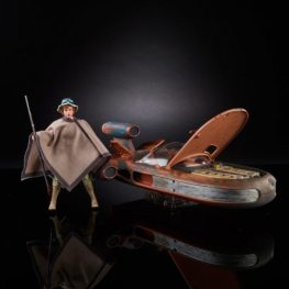 Star Wars Black SDCC Luke with hat and poncho