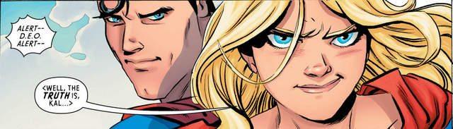 Supergirl #8 interior art