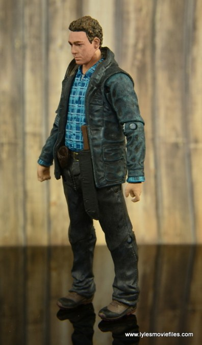 The Walking Dead Aaron figure review -left side