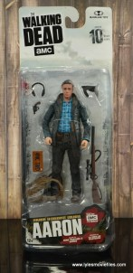 The Walking Dead Aaron figure review - package front