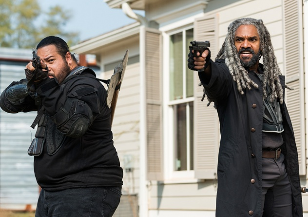 The Walking Dead The First Day of the Rest of Your Life -Jerry and Ezekiel