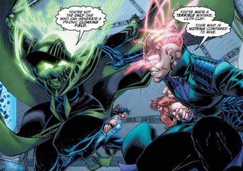 Titans #10 interior art