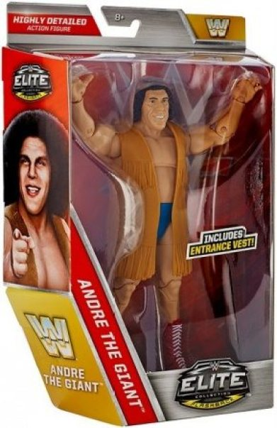 WWE Elite Andre the Giant Flashback Amazon exclusive - package side