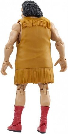 WWE Elite Andre the Giant Flashback Amazon exclusive - rear