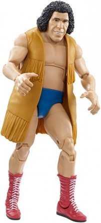 WWE Elite Andre the Giant Flashback Amazon exclusive - with vest on