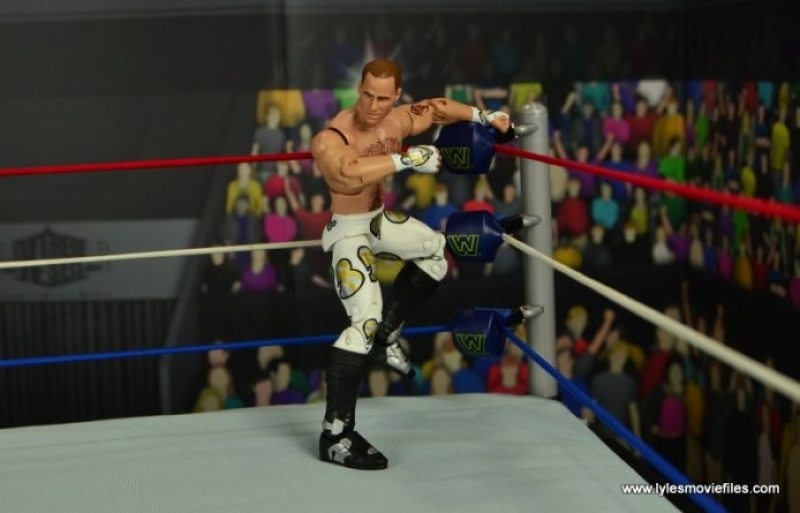 WWE Wrestlemania 12 Elite Shawn Michaels figure review -cueing up the band