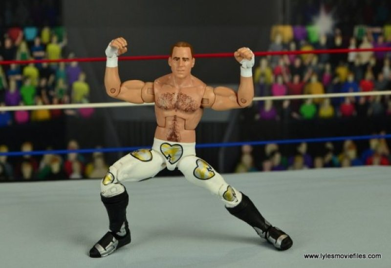 WWE Wrestlemania 12 Elite Shawn Michaels figure review -signature pose