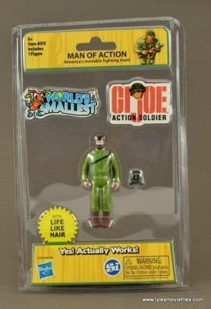 Joe Action Soldier Man of Action World/'s Smallest GI G.I