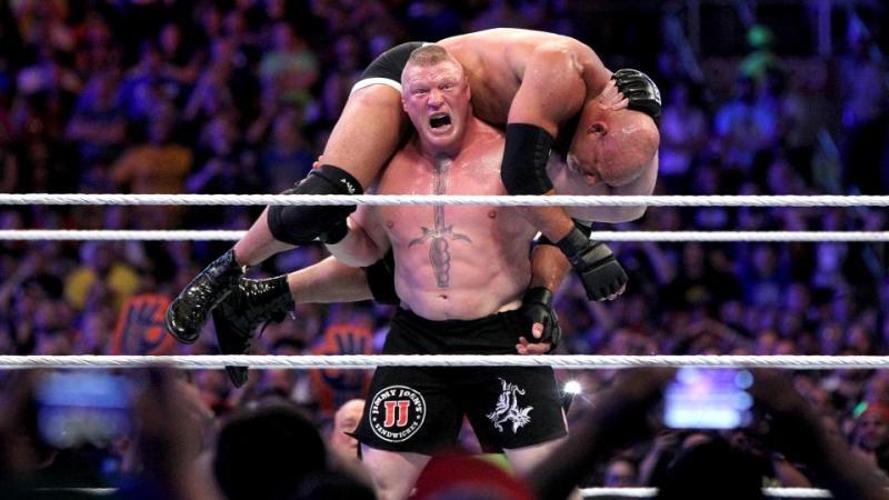 Wrestlemania 33 - Brock Lesnar vs Goldberg