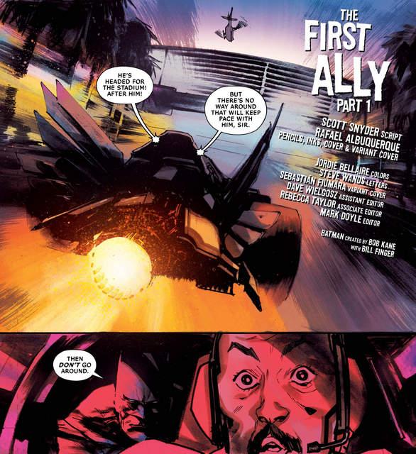 All-Star Batman #10 interior art