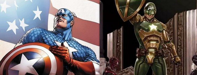 Captain America to Secret Empire Cap heroes to bad guys