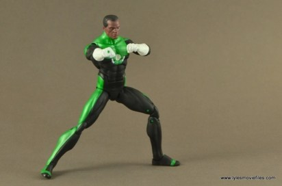 DC Icons John Stewart figure review - aiming