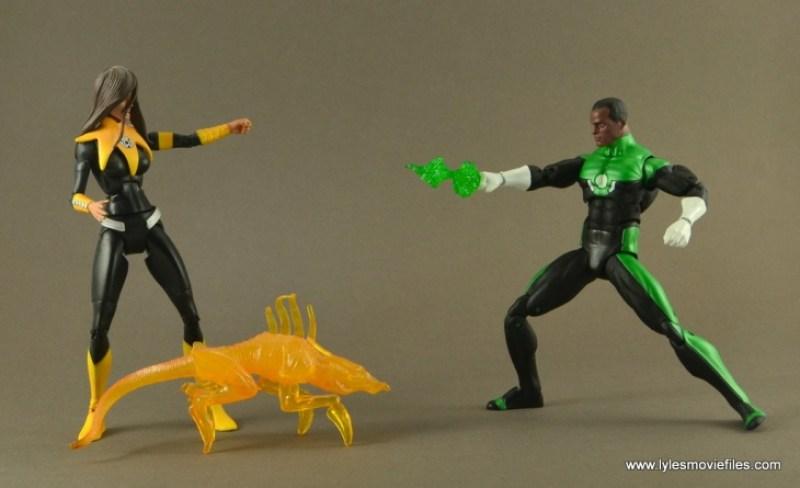 DC Icons John Stewart figure review - vs Karu-Sil