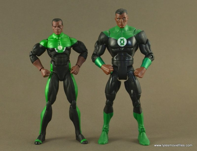DC Icons John Stewart figure review - with DC Classics John Stewart