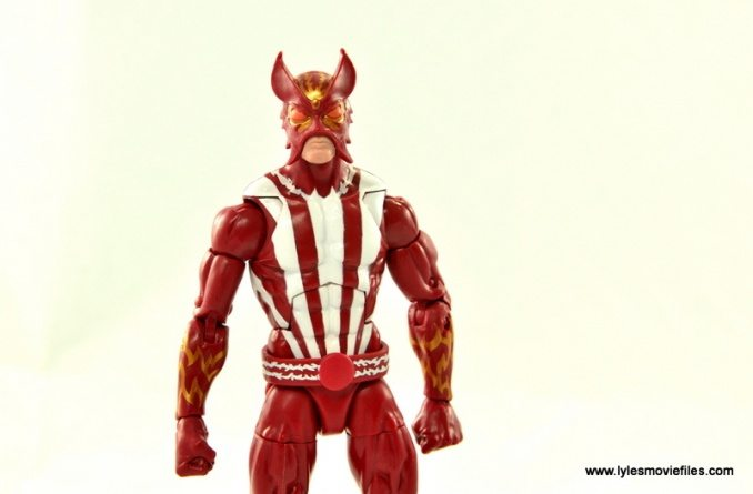Marvel Legends Sunfire figure review - main pic