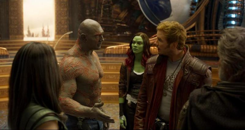 Guardians of the Galaxy Vol. 2 - Mantis, Drax, Gamora, Star-Lord and Ego