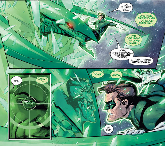 Hal Jordan and the Green Lantern Corps #20 interior art