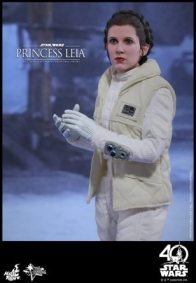 Hot Toys Princess Leia Hoth figure -hands together