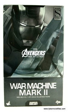 Hot Toys War Machine Age of Ultron figure review - package front
