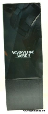 Hot Toys War Machine Age of Ultron figure review -package right side
