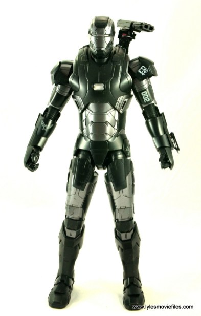 Hot Toys War Machine Age of Ultron figure review -straight