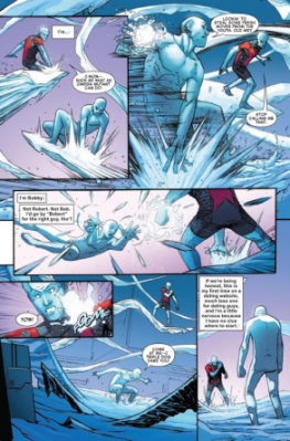 Iceman #1 page 2