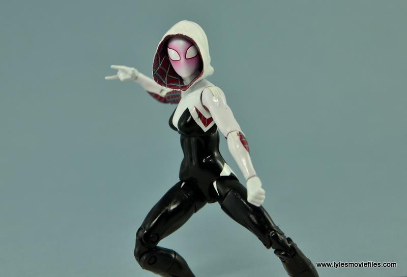 Marvel Legends Spider-Gwen figure review - battle ready