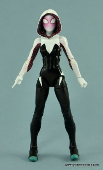 Marvel Legends Spider-Gwen figure review - front side