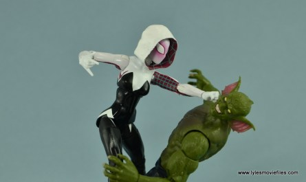 Marvel Legends Spider-Gwen figure review - vs Jackal