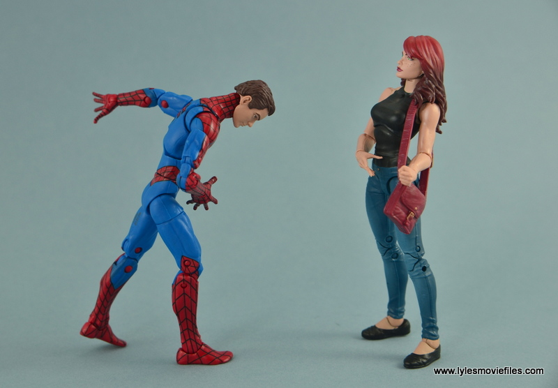 Marvel Legends Spider-Man and Mary Jane Watson two-pack ...