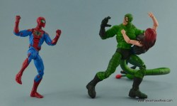 Marvel Legends Spider-Man and Mary Jane Watson figure review - Scorpion grabbed MJ